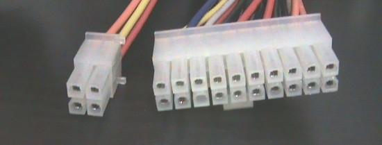 *alimentatore per pc atx 20+4 poli 200 watt 150x82x40.5 pfc attivo supporto sata ventola  40 mm.