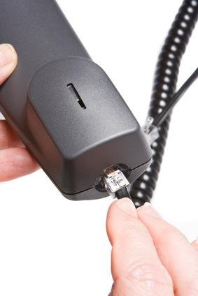 Cavo di connessione per cornetta telefonica a spirale mt 4 (cm 60) colore nero