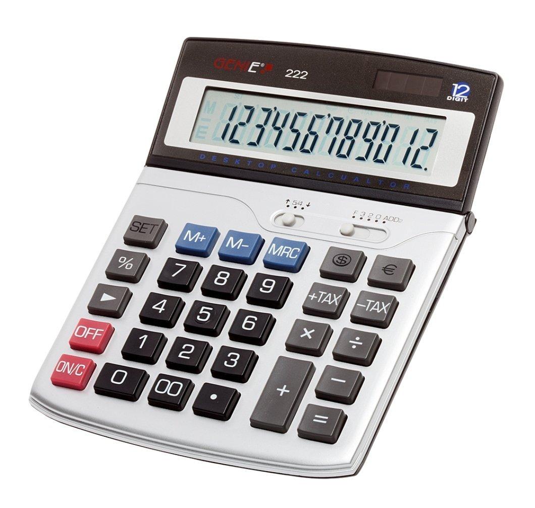 Calcolatrice da tavolo compatta 12 cifre