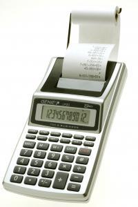 Calcolatrice da tavolo 12 cifre con rotolo