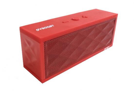Altoparlante minibox rosso bluetooth