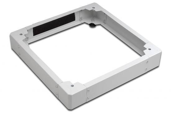 Basamento per armadio rack 800×800 colore grigio