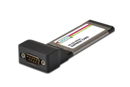 Scheda express card con porta seriale 9 poli rs232