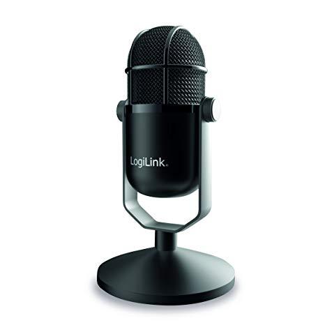 Microfono usb hd alta qualita'  colore nero