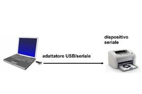 Adattatore da pc usb 2.0 a porta seriale rs232 9 poli con cavo