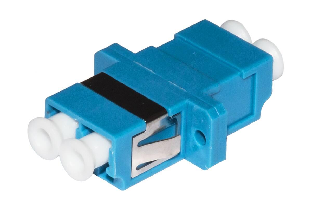 Adattatore fibra ottica lc/lc singlemode duplex