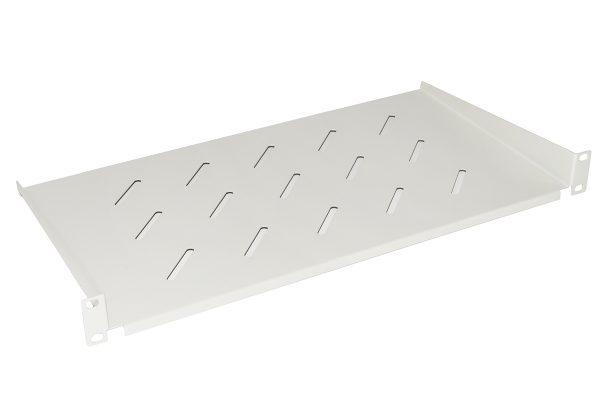 Ripiano per armadio 19″ 1 unita' profondita' 250 mm. (universale) colore grigio
