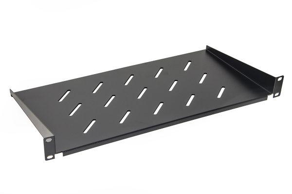 Ripiano per armadio 19″ 1 unita' profondita' 250 mm. (universale) colore nero