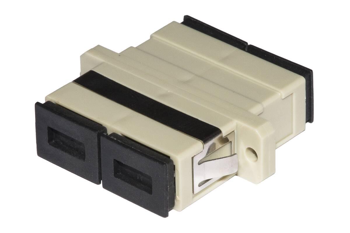 Adattatore fibra ottica sc/sc multimode duplex om2