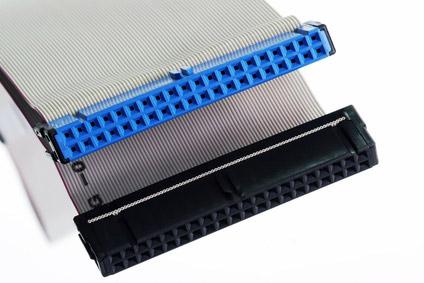 *cavo dati ultra ata 3 connettori 40 poli ultra ata 33-66-100 cm.60 – 80 conduttori (ak-ata-100/1)