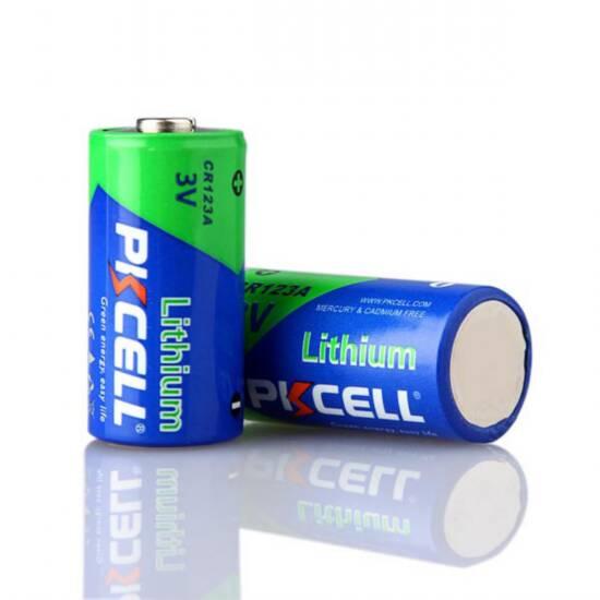 Batteria litio cr123a 3 volt