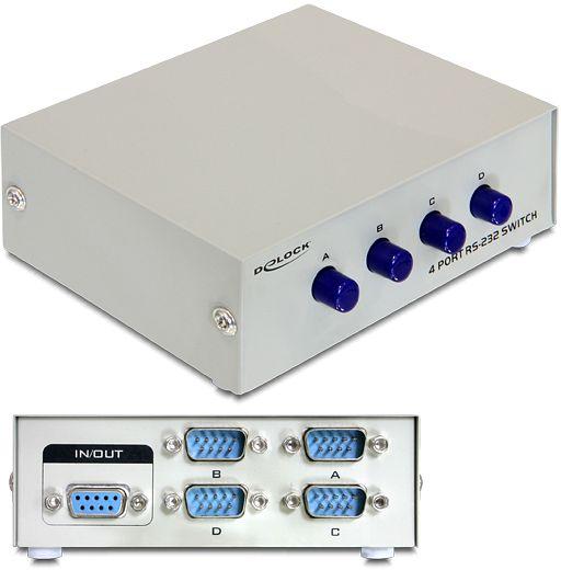 Switch 4 porte 9 poli commutazione manuale