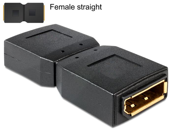 Adattatore displayport femmina/femmina