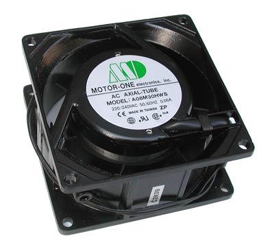 Ventola mm. 80x80x25 24 volt 2 fili