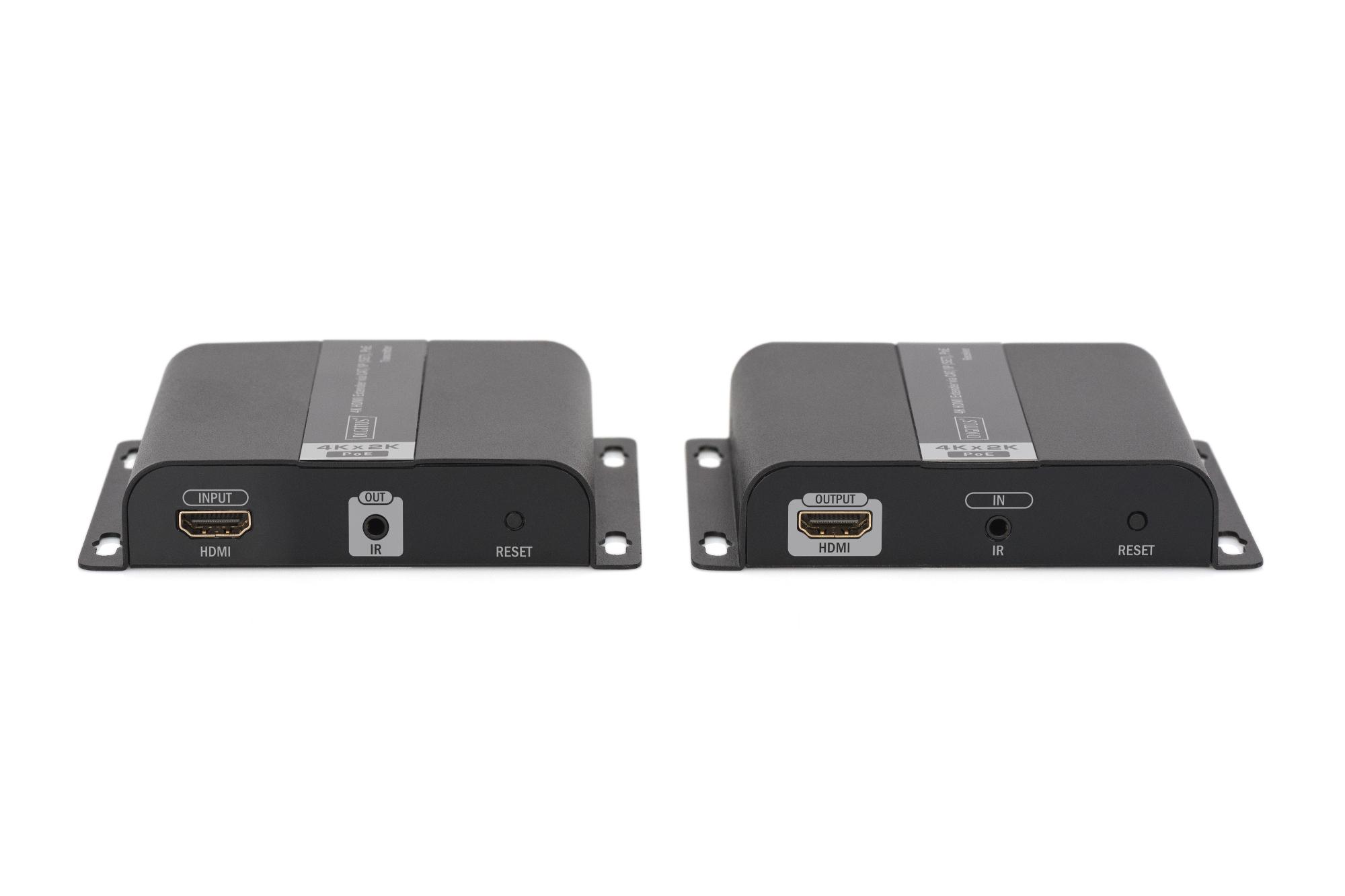 Estensore 4k hdmi via cavo rete anche per ip poe mt 120