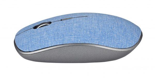 Mouse wireless denim colore blu
