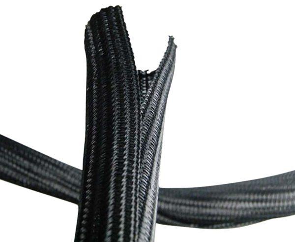 Canalina per cavi apribile senza attrezzi in poliestere flessibile 32 mm non infiammabile confezione 5 mt
