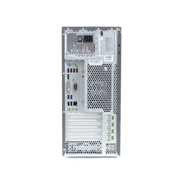 Pc refoo fujitsu p710 i5-3470 8gb ssd 256gb dvdrw windows 10 professional update garanzia 12 mesi completo di kit tastiera e mouse ed imballo personalizzato