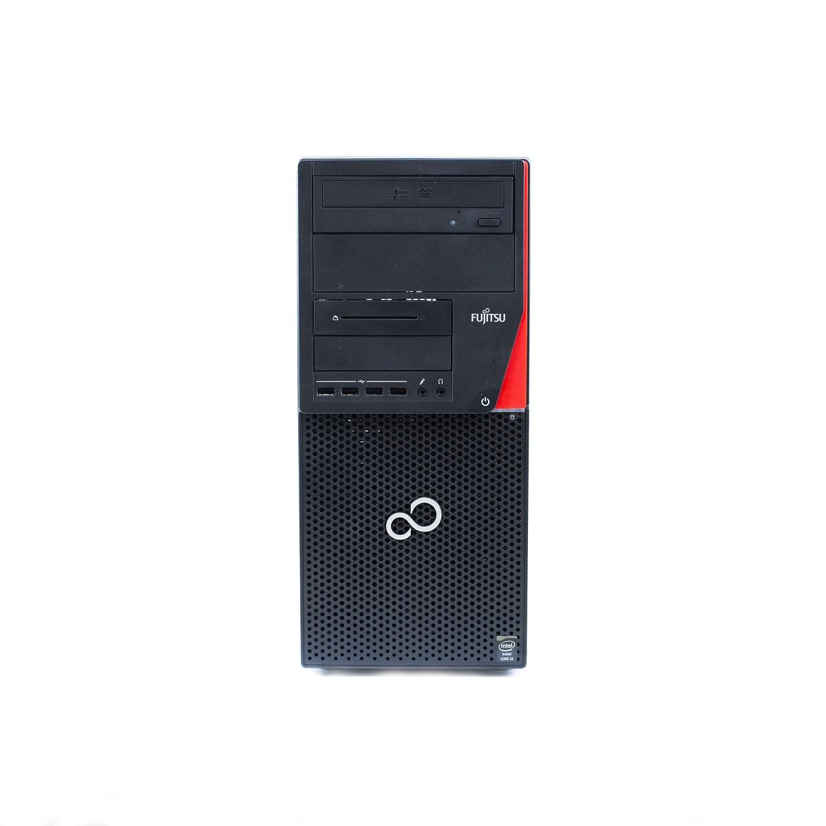 Pc refoo fujitsu p720 i5-4570 8gb ssd 256gb dvdrw windows 10 professional update garanzia 24 mesi completo di kit tastiera e mouse ed imballo personalizzato