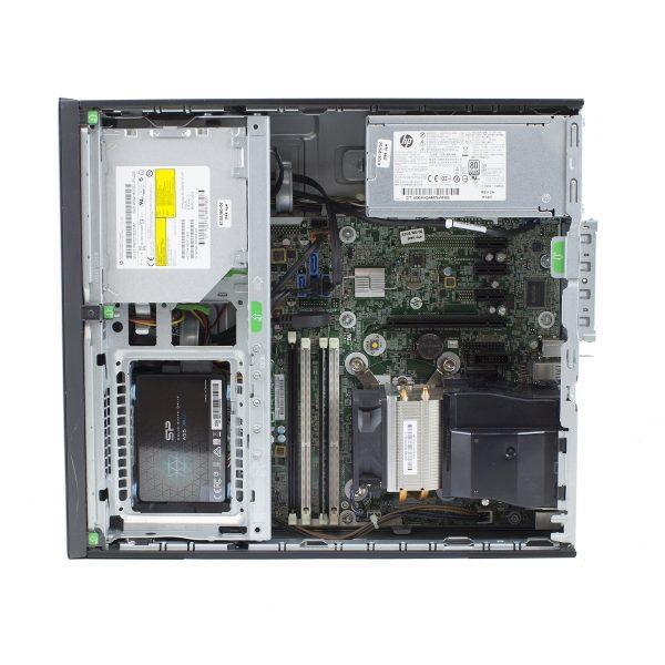 Pc refoo hp prodesk 600 g1 sff i5-4570 4gb ssd 256gb dvdrw windows 10 professional update garanzia 24 mesi completo di kit tastiera e mouse ed imballo personalizzato