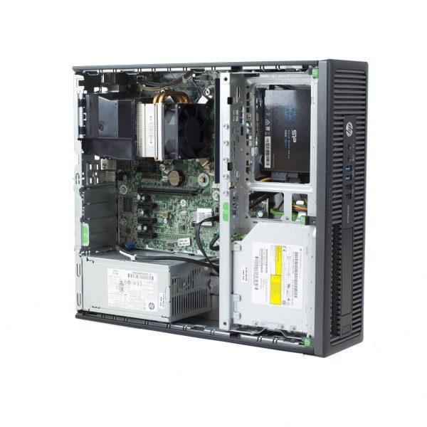 Pc refoo hp prodesk 600 g1 sff i5-4570 4gb ssd 256gb dvdrw windows 10 professional update garanzia 12 mesi completo di kit tastiera e mouse ed imballo personalizzato