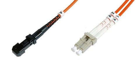 Cavo fibra ottica mtrj a lc multimode duplex 62,5/125 mt.3