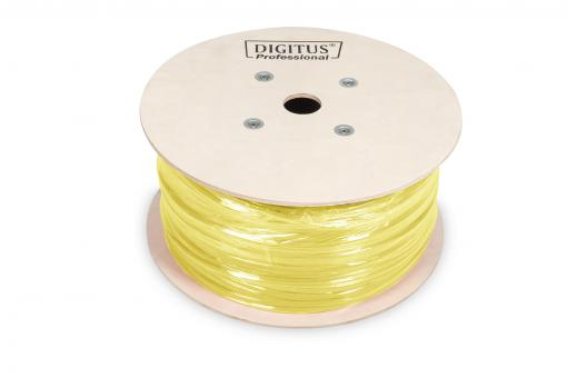 Cavo rete cat 7a s/ftp solido da installazione duplex matassa mt 500 classe cpr: dca digitus