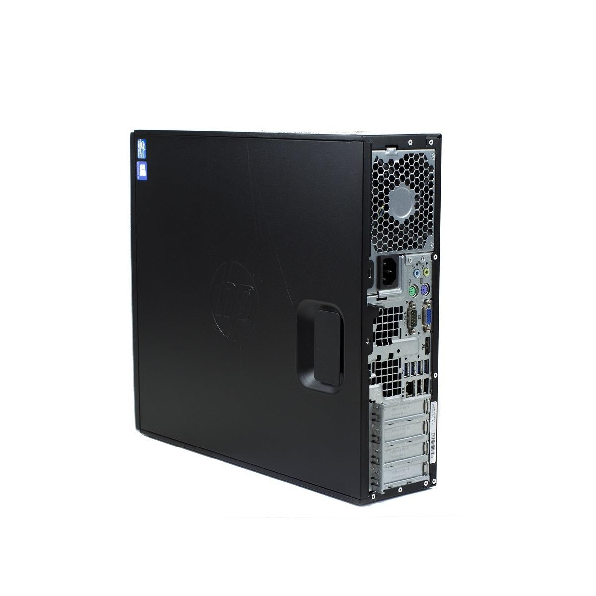 Pc refoo galaxy hp elite 6300 sff i5-3470 4gb ssd 480gb dvd windows 10 professional update garanzia 24 mesi completo di kit tastiera e mouse ed imballo personalizzato