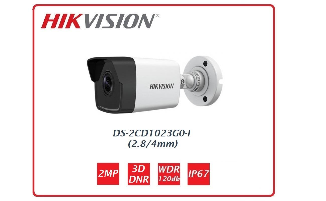 Telecamera Easy IP 1.0+  2 MP Bullet Ottica fissa DS-2CD1023G0-I