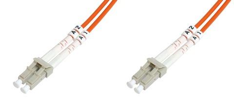 Cavo fibra ottica lc a lc multimode duplex 50/125 mt.1