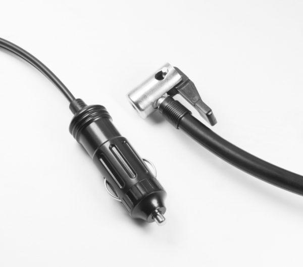 Compressore dAria Digitale Elettrico con Lampada a LED per Auto//SUV//Moto//materassino//Bici ECC Greensen Compressore dAria Portatile 5V 120W Gonfiatore di Pneumatici Automatico