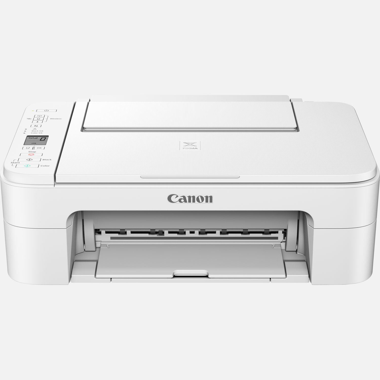 Stampante canon canon mfc ink pixma ts3351 white a4 3in1  lcd wifi
