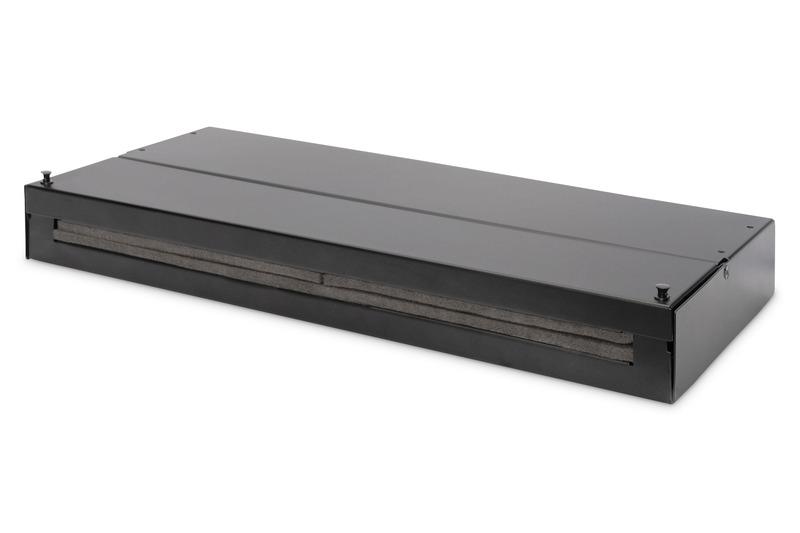 Digitus box punto di consolidamento per moduli keystone / accoppiamenti a fibra ottica per 24 x keystone, 12xlc dx