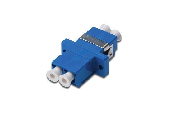 Accoppiatore fibra ottica lc / lc singlemode duplex digitus