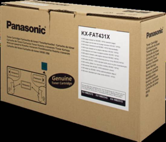 Toner originale per serie panasonic kx-mb2500 6000 pagine