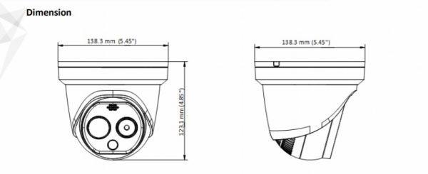Telecamera Termica e Ottica Hikvision DS-2TD1217-2/PA