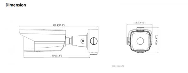 Telecamera Termica IP Bullet Ottica Fissa 6mm DS-2TD2117-6/V1