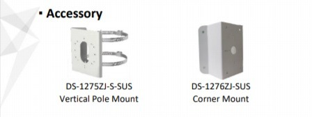 Telecamera Termica e Bi-Spectrum IP Bullet 160*120 3mm DS-2TD2617-3/PA
