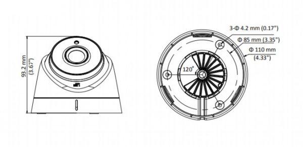 DS-2CC52D9T-IT3E (3.6 mm)PoC