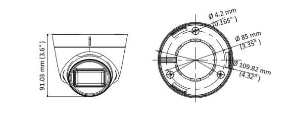 Telecamera turbo HD DS-2CE78U7T-IT3F