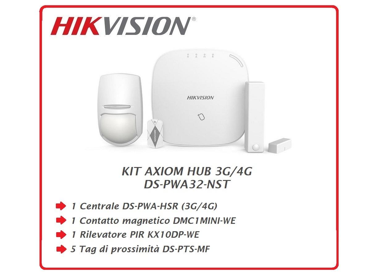 KIT AXIOM HUB 3G/4G  DS-PWA32-NST