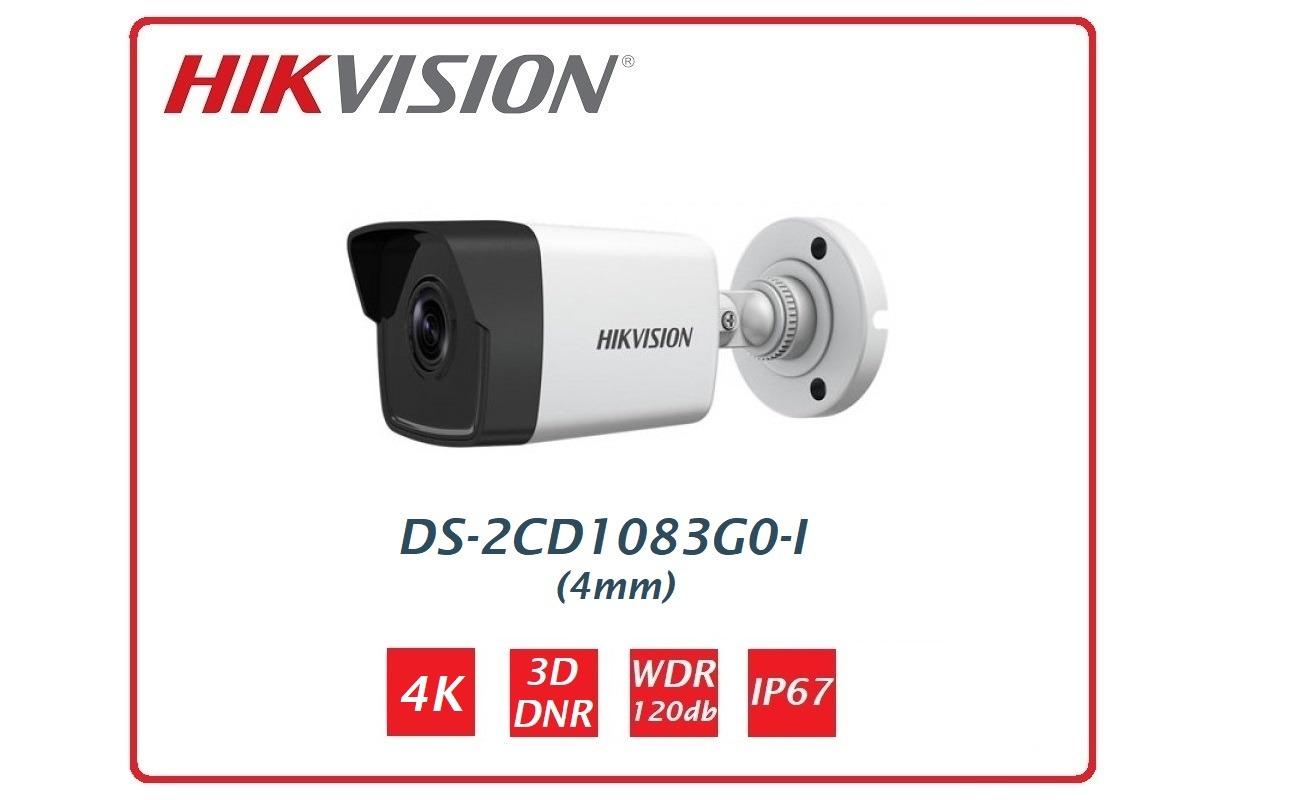 Telecamera IP 4K Ottica fissa DS-2CD1083G0-I