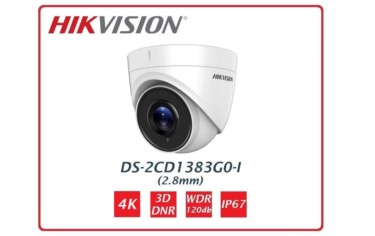 Telecamera Turret EASY IP 1.0 4K  DS-2CD1383G0-I Hikvision