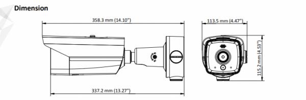 Telecamera Termica Hikvision DS-2TD2117-10/PA