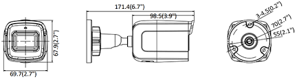 KIT WI-FI  NVR 4CH + 4 TLC 4MP  NK44W0H-1T(WD)