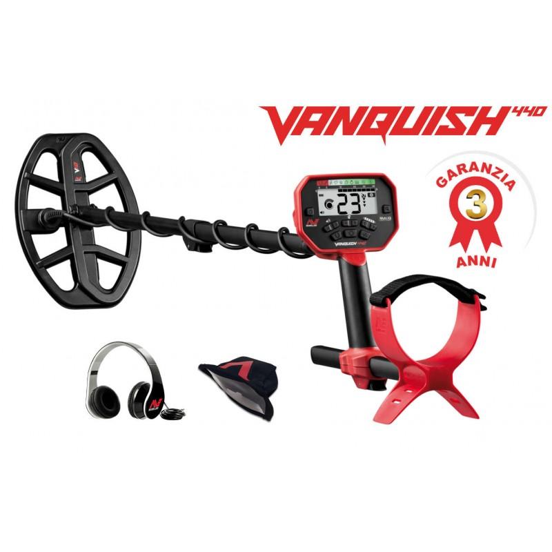 Metal detector vanquish 440