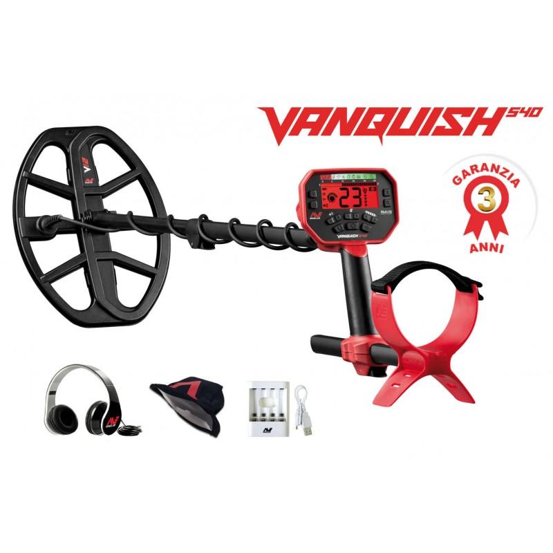 Metal detector vanquish 540